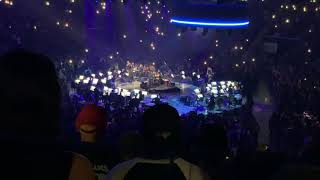 """Metallica with the S.F. Symphony Performing """"Nothing Else Matters"""" on Sunday September 8,2019"""