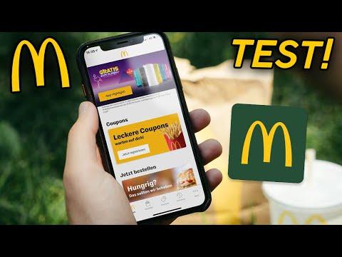 McDonalds - Per App vorbestellen! So geht's