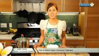 How To Make Apple Cinnamon Oatmeal