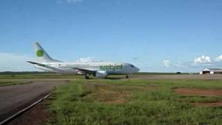 Pouso WebJet Rondonópolis 737-300