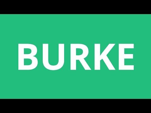 How To Pronounce Burke - Pronunciation Academy