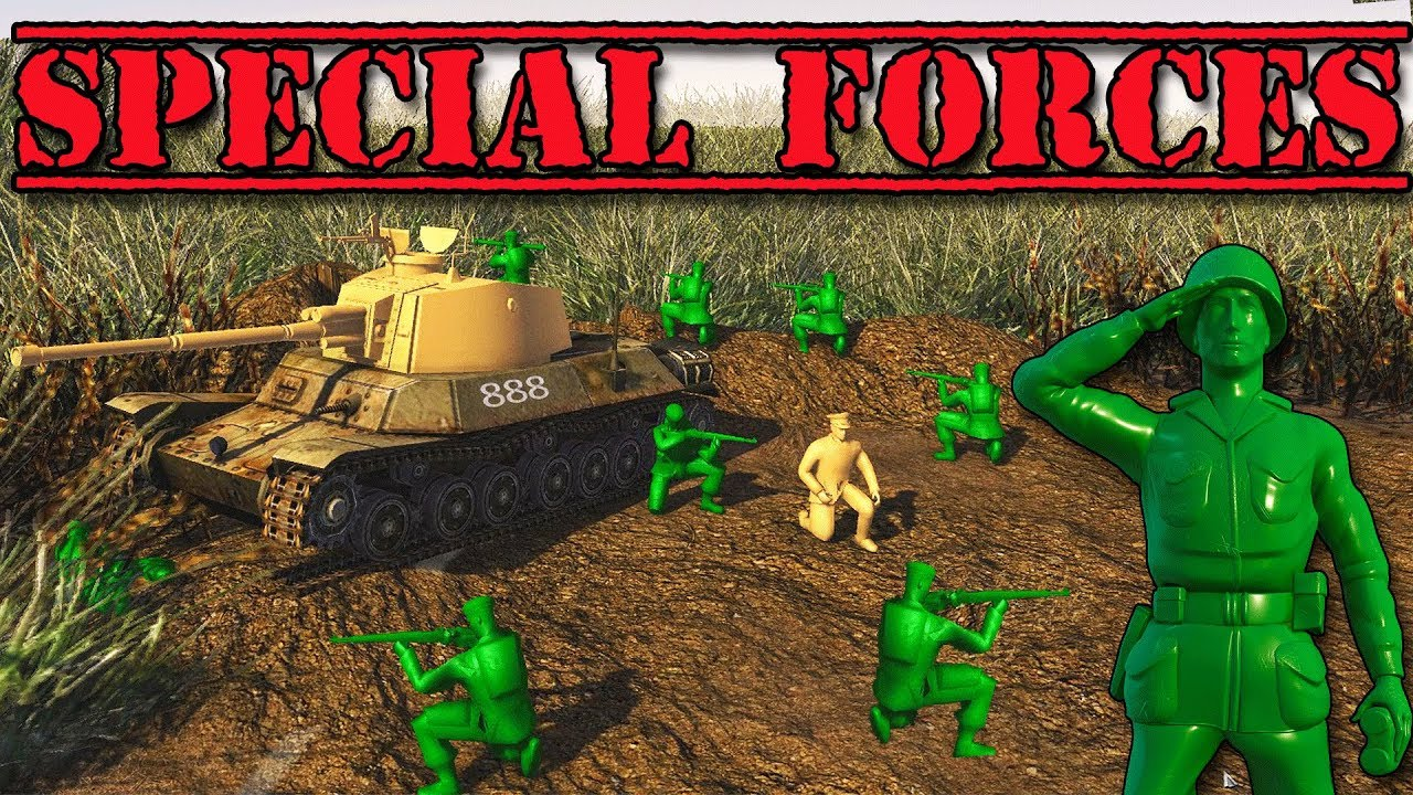 Special Forces Mission New Army Men Game Army Men Of War
