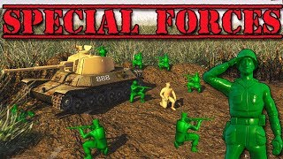 Special Forces Mission! NEW ARMY MEN Game (Army Men Mod Gameplay - Toy Soldiers Green vs Tan Part 2)