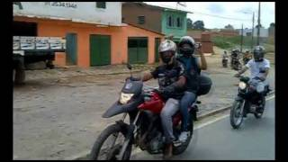 PASSEIO MOTOCICLISTA NA CIDADE DE ESCADA...