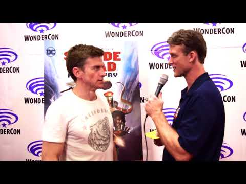 Gideon Emery   Suicide Squad: Hell to Pay at WonderCon