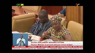 Parliament reconvenes for  second meeting of the second session