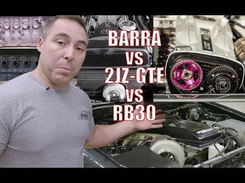 Is the Barra 4.0L block better than the 2JZ and RB30?