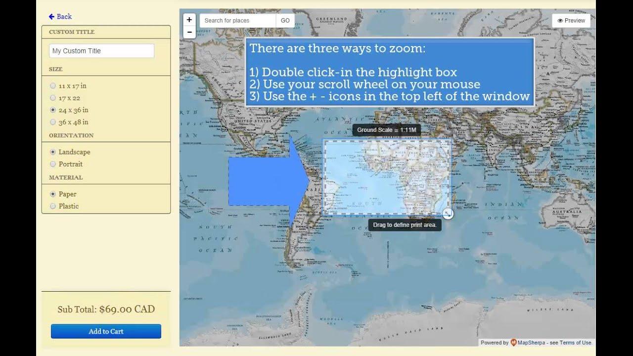 World Of Maps National Geographic World Atlas YouTube - 36 x 48 world map