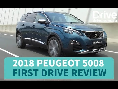 2018 Peugeot 5008 First Drive Review   Drive.com.au - Dauer: 3 Minuten, 39 Sekunden