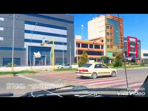 Driving in Erbil - iraqi kurdstan capital city