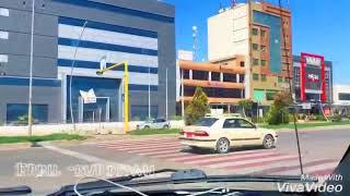 Driving in Erbil - iraqi kurdstan capital city