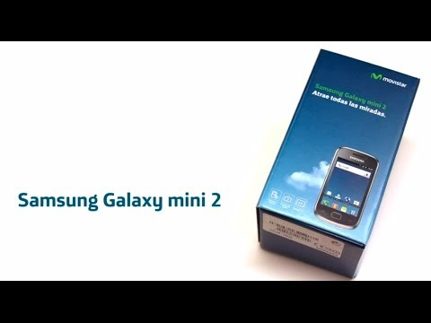 MOVSITAR - Samsung Galaxy mini 2 Unboxing