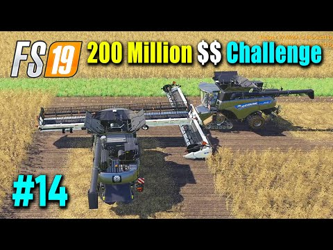 200 Million Dollar Challenge Part 14, Harvesting and Selling