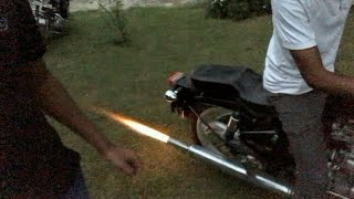 How to make Pataka sound with Bullet 350!!! Latest video 2019