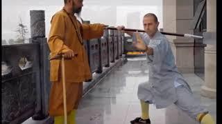 Shaolin Yue Ya Chan 少林月牙铲 - Shi Yan Xiang 释延向法师   Shaolin Temple Greece 希腊少林寺
