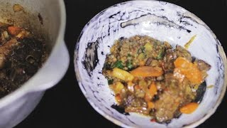 Braised Beef Brisket With Lentil (Говяжья грудинка с чечевицей)