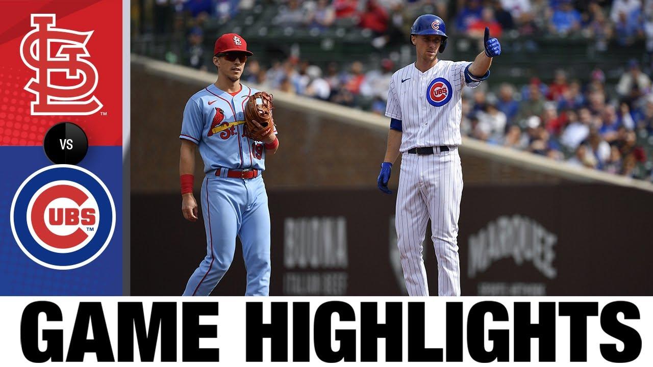 Download Cardinals vs. Cubs Game Highlights (9/25/21) | MLB Highlights