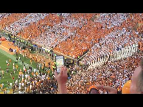 Rocky Top After Florida Game 2016