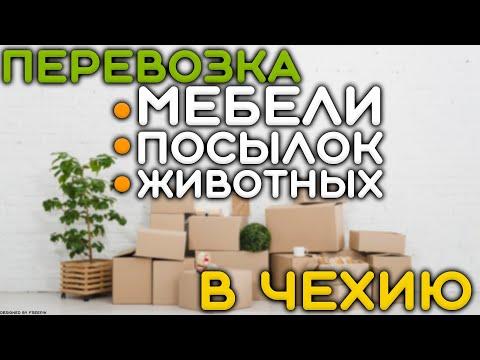 Перевозка мебели, животных, посылок, документов в Чехию
