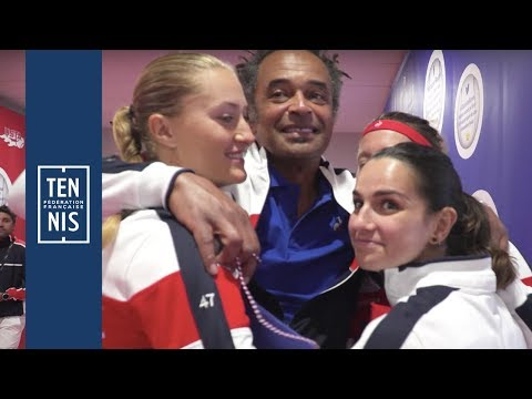 Fed Cup #FRAUSA, la minute bleue n°6 : émotions et frissons