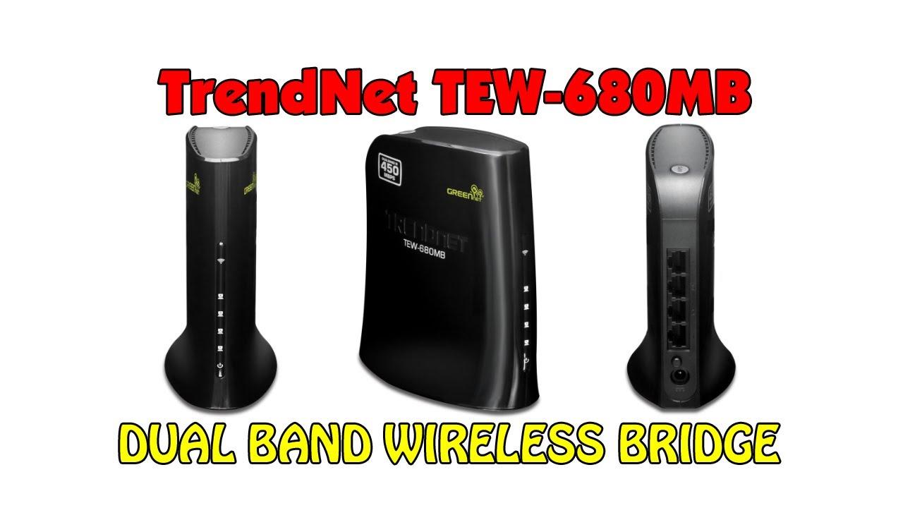 TRENDnet TEW-680MB Bridge Treiber Windows 7