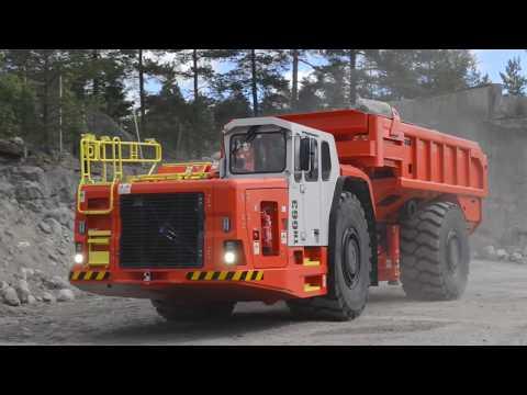 Sandvik Underground Truck Ejector Box