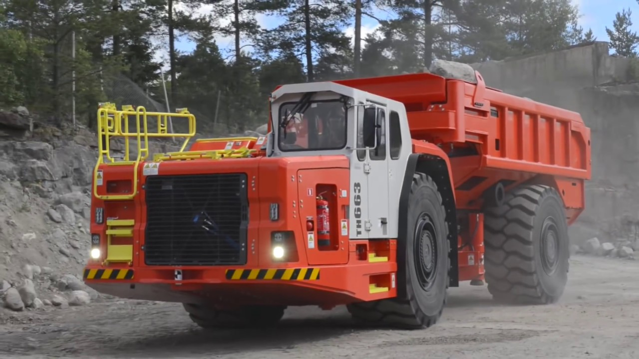 Sandvik Underground Truck Ejector Box | Sandvik Mining and Rock Technology
