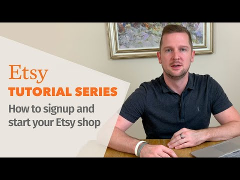 How To Start An Etsy Shop - Beginners guide to Etsy - Etsy Tutorial 2019