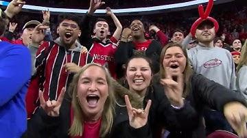 Fans celebrate as NC State stuns No. 6 Duke in 88-66 romp