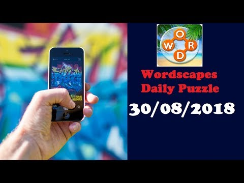 wordscapes daily puzzle today