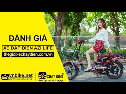 Đánh giá xe đạp điện Azi Life