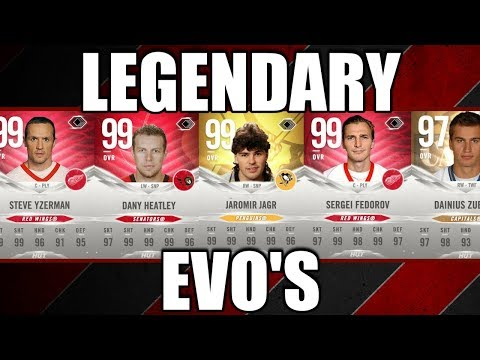 Legend EVO's - Upgrades, Stats and More - NHL 19 Talk