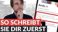 Der perfekte Profiltext im Online-Dating: SO schreibt Sie Dir ZUERST! [2020] | Andreas Lorenz