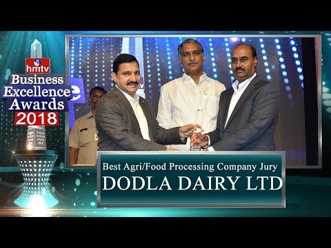 Dodla Dairy Ltd | Best Agri/Food Processing Company Jury Award | BEA 2018 | hmtv News