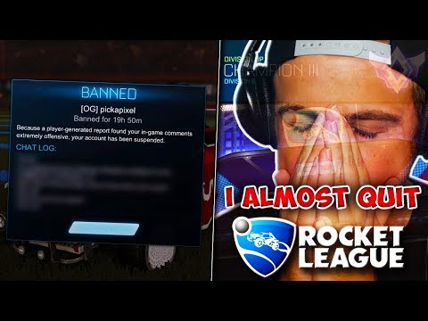 This honestly made me want to quit Rocket League... thumbnail