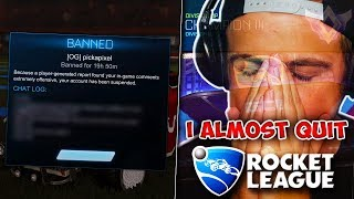 This honestly made me want to quit Rocket League...