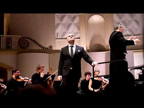 Michael Fabiano. concert in Moscow. Tchaikovsky hall.  20.12. 2018.