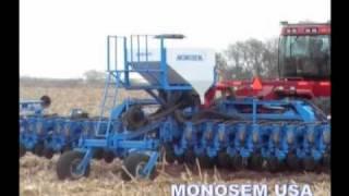 Siewniki punktowe i maszyny rolnicze Monosem w akcji! www.monosem.pl !