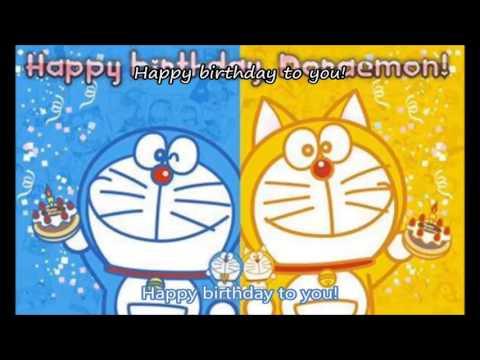 Lagu doraemon happy brirtday