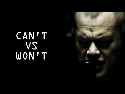 'I Can't VS I Won't': Rob Jones' Except - Jocko Willink