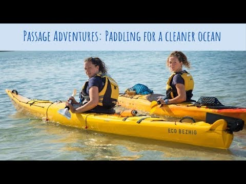 Paddling for a Cleaner Ocean with Passage Adventures