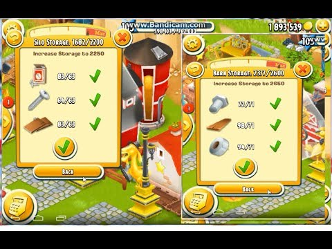 Upgrade Barn 2650 and Silo 2250 | Hay Day Gameplay - YouTube