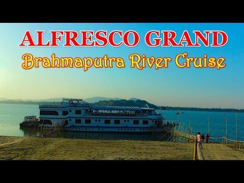Brahmaputra River Cruise Sunset Ride With Food - ALFRESCO GRAND - Guwahati, Assam  !!!