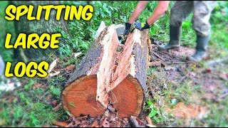 Splitting Long Logs