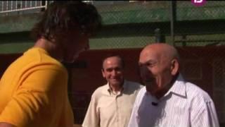 El abuelo de Mallorca cumple el sueño de conocer a Rafa Nadal
