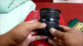 Lens review SIGMA 10-20 mm HSM for Canon