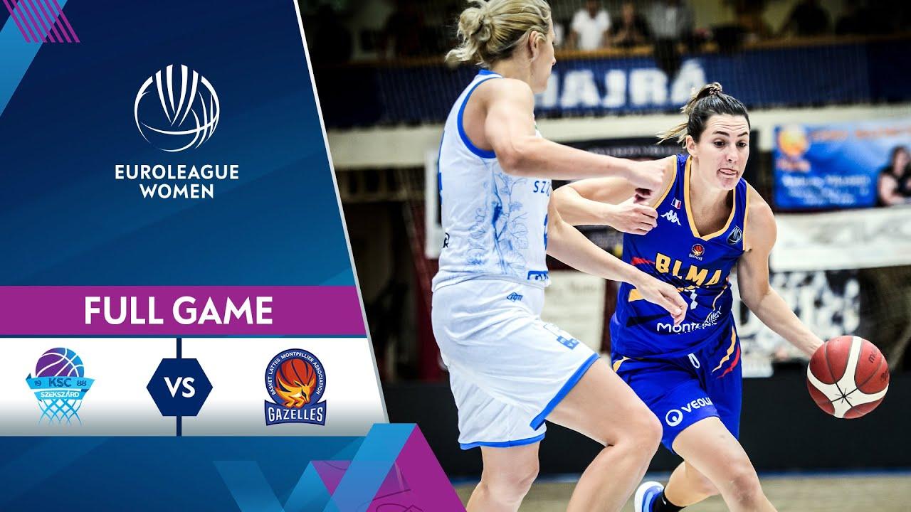KSC Szekszard v BLMA | Full Game - EuroLeague Women 2021-22