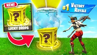 LUCKY SUPPLY DROP BATTLES in Fortnite Battle Royale