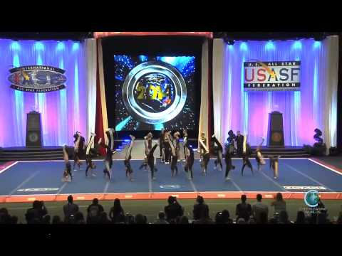 Unity Allstars Black England International Open Coed 6 Worlds Finals 2014