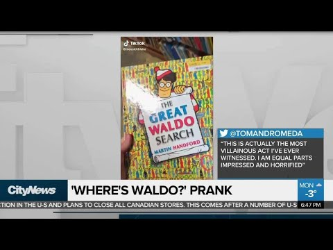 'Where's Waldo?' Prank
